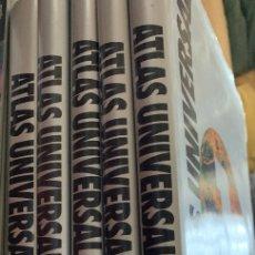 Libros de segunda mano: GRAN ATLAS UNIVERSAL SALVAT. 5 VOLÚMENES.. Lote 176002687