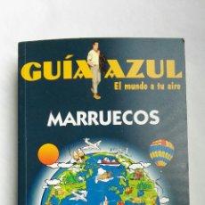 Libros de segunda mano: MARRUECOS GUÍA AZUL 2000. Lote 176060122
