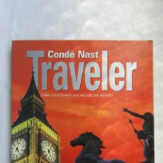 Libros de segunda mano: CONDE NAST TRAVELER LONDRES. Lote 176789785