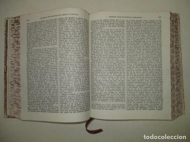 Libros de segunda mano: VIAJES DE EXTRANJEROS POR ESPAÑA Y PORTUGAL. Desde los tiempos más remotos, hasta fines del siglo XV - Foto 4 - 209672817