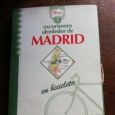 Libros de segunda mano: 52 EXCURSIONES EN BICICLETA ALREDEDOR DE MADRID - ED. EL PAÍS - COMPLETO. Lote 177262667
