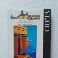 Libros de segunda mano: GUÍA DE VIAJE CRETA. Lote 177527929
