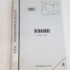 Libros de segunda mano: MAPA GEOMORFOLOGICO - BENASQUE - TDK100. Lote 177749400