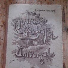 Libros de segunda mano: ATLAS GEOGRÁFICO UNIVERSAL SALVADOR SALINAS. Lote 177942914