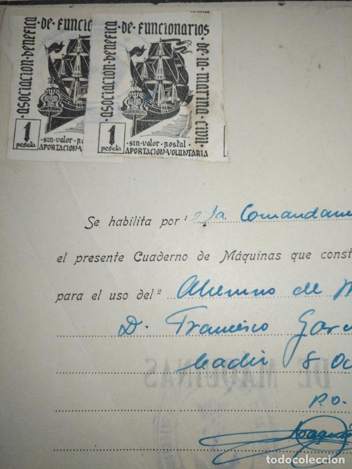 Libros de segunda mano: Cuaderno de maquinas cabo de hornos barco turbina del año 1902 . Escrito 1946 - Foto 4 - 178222837