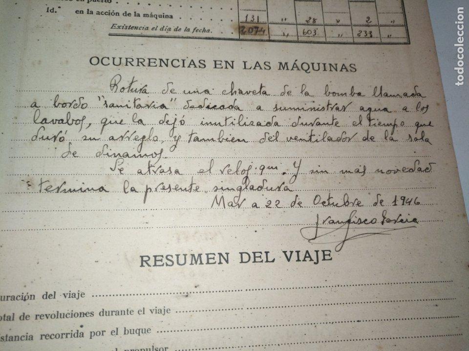 Libros de segunda mano: Cuaderno de maquinas cabo de hornos barco turbina del año 1902 . Escrito 1946 - Foto 16 - 178222837