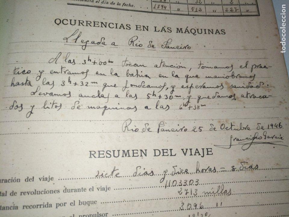 Libros de segunda mano: Cuaderno de maquinas cabo de hornos barco turbina del año 1902 . Escrito 1946 - Foto 17 - 178222837