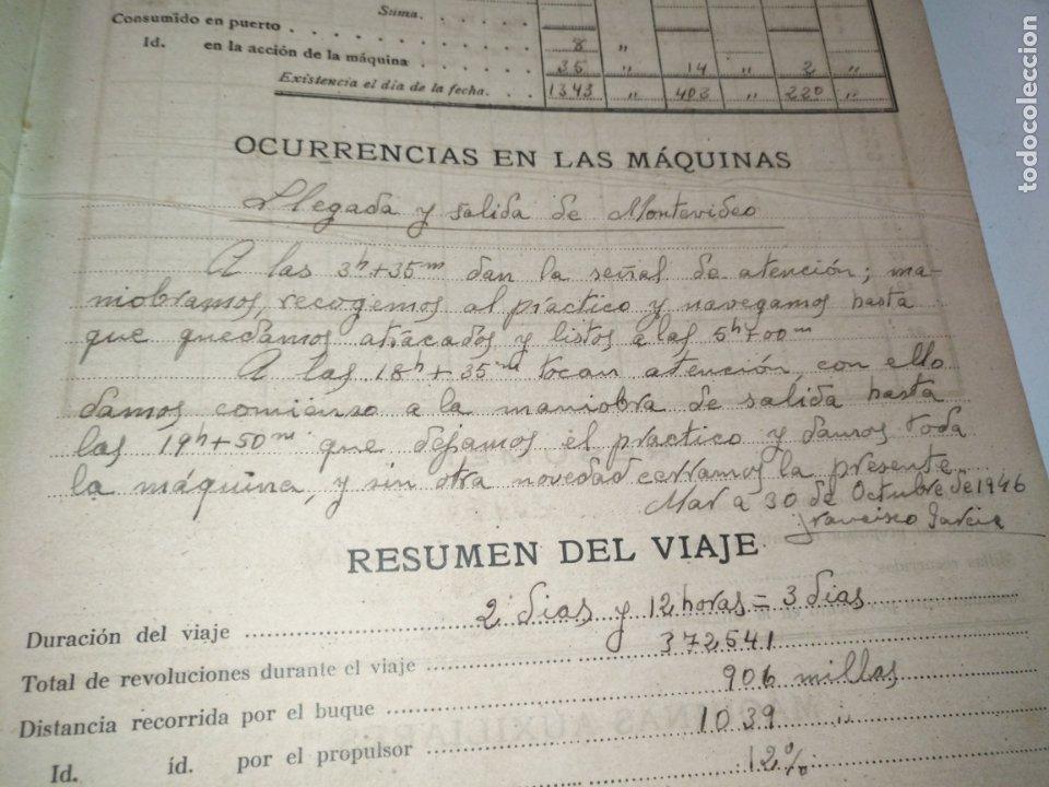 Libros de segunda mano: Cuaderno de maquinas cabo de hornos barco turbina del año 1902 . Escrito 1946 - Foto 19 - 178222837