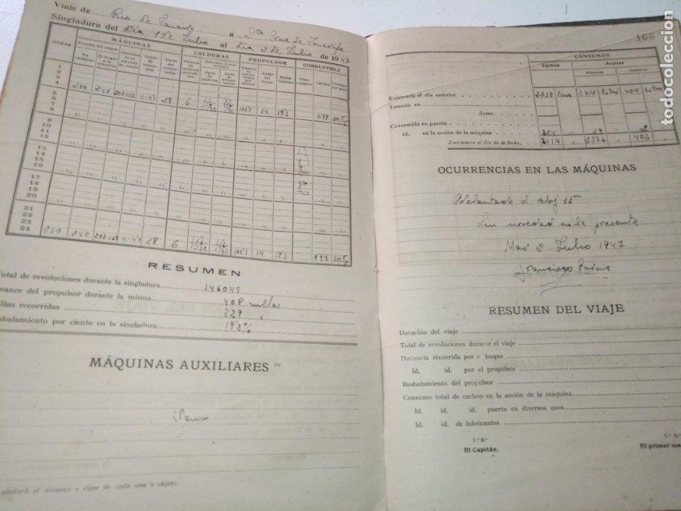Libros de segunda mano: Cuaderno de maquinas cabo de hornos barco turbina del año 1902 . Escrito 1946 - Foto 23 - 178222837