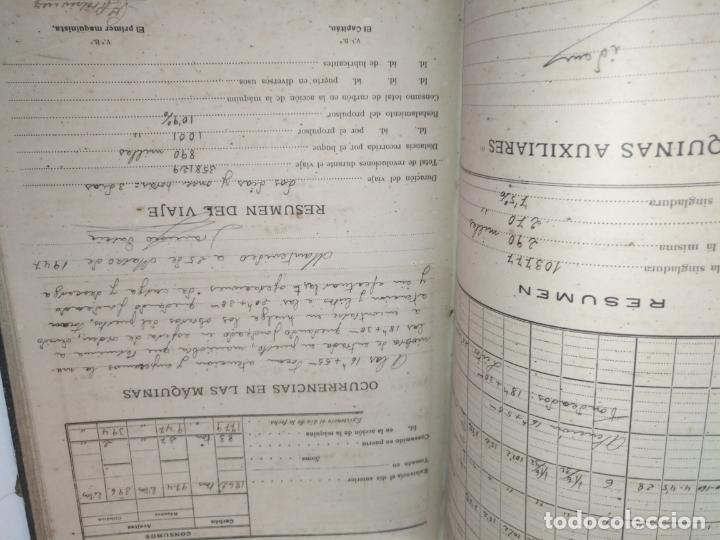 Libros de segunda mano: Cuaderno de maquinas cabo de hornos barco turbina del año 1902 . Escrito 1946 - Foto 27 - 178222837