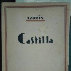 Libros de segunda mano: AZORÍN. CASTILLA. 1943. Lote 178627941