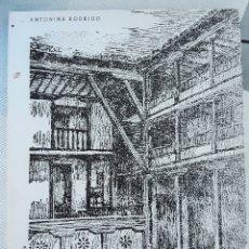 Libros de segunda mano: ALMAGRO Y SU CORRAL DE COMEDIAS. ANTONINA RODRIGO. W. Lote 179184273