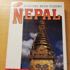 Libros de segunda mano: NEPAL. GUÍA DEL BUEN VIAJERO (BRIAN TETLEY) BLUME. Lote 179196310