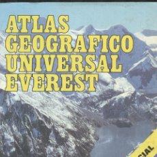 Libros de segunda mano: ATLAS UNIVERSAL EVEREST . Lote 179321128