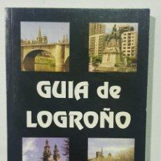 Libros de segunda mano: GUIA DE LOGROÑO - JOSE MARIA MARTINEZ DEL CAMPO - TDK140. Lote 179337976