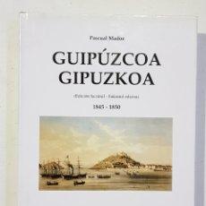 Libros de segunda mano: PASCUAL MADOZ. GIPUZKOA - GUIPUZCOA. FACSIMIL. 1845-1850 AMBITO - TDK130. Lote 179553807