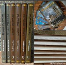 Libros de segunda mano: EL NOSTRE PATRIMONI. JORDI OLAVARRIETA. COLECCION DE 6 TOMOS. Lote 179953490
