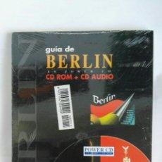 Libros de segunda mano: GUÍA DE BERLÍN CD ROM + CD AUDIO. Lote 179963322