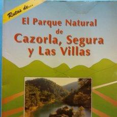 Libros de segunda mano: EL PARQUE NATURAL DE CAZORLA, SEGURA Y LAS VILLAS. MONTSERRAT APARICIO. SENDAI EDICIONES. Lote 180110012