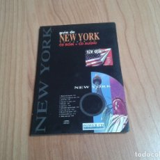 Libros de segunda mano: NEW YORK -- GUÍA -- CD ROM + CD UDIO -- POWER CD. Lote 180115026