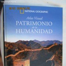 Libri di seconda mano: ATLAS VISUAL PATRIMONIO DE LA HUMANIDAD ASIA I NATIONAL GEOGRAPHIC. BARCELONA, 2007. . Lote 180199363