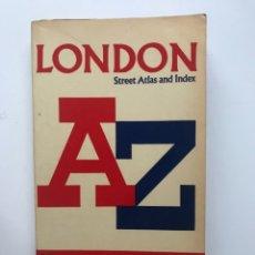 Libros de segunda mano: CALLEJERO DE LONDRES A-Z.(LONDON STREET ATLAS AND INDEX. Lote 180264273