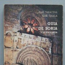 Libros de segunda mano: GUÍA ARTÍSTICA DE SORIA Y SU PROVINCIA. BLAS TARACENA JOSE TUDELA. Lote 180269991