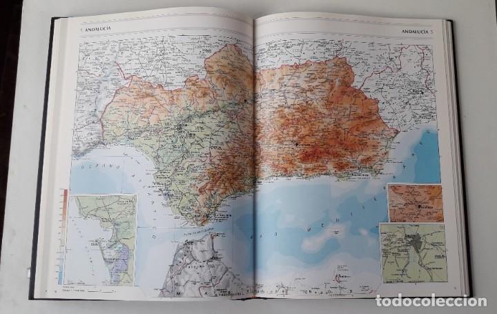 Libros de segunda mano: GRAN ATLAS SALVAT UNIVERSAL, ESPAÑA - Foto 4 - 180286236