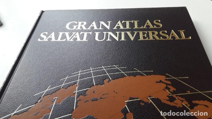 Libros de segunda mano: GRAN ATLAS SALVAT UNIVERSAL, ESPAÑA - Foto 9 - 180286236
