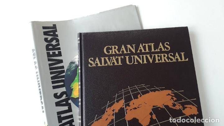 GRAN ATLAS SALVAT UNIVERSAL, ESPAÑA (Libros de Segunda Mano - Geografía y Viajes)