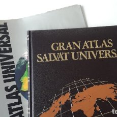 Libros de segunda mano: GRAN ATLAS SALVAT UNIVERSAL, ESPAÑA. Lote 180286236