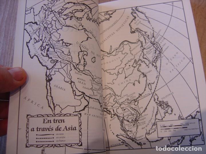 Libros de segunda mano: EL GRAN BAZAR DEL FERROCARRIL. PAUL THEROUX. VIAJE EN TREN POR TURQUÍA, EXT. ORIENTE Y SIBERIA.1999 - Foto 4 - 180868822
