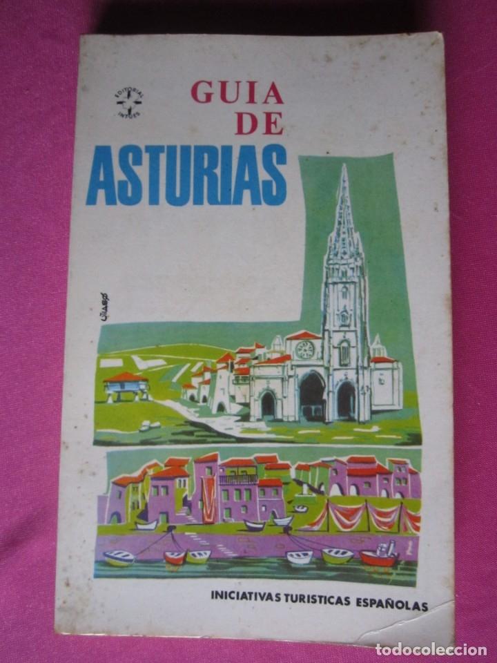 GUÍA DE ASTURIAS, INICIATIVAS TURISTICAS ESPAÑOLAS. (Libros de Segunda Mano - Geografía y Viajes)