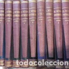 Libros de segunda mano: EL MUNDO PINTORESCO - 9 TOMOS (JACKSON, 1952) - COMO NUEVOS. Lote 180941221