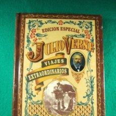 Libros de segunda mano: VIAJES EXTRAORDINARIOS-ROBUR EL CONQUISTADOR-JULIO VERNE-NUEVO SIN ABRIR PLASTICO EDITORIAL-AÑOS 90.. Lote 180990232