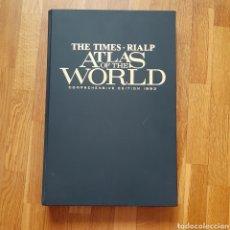 Libros de segunda mano: THE TIMES REAL ATLAS OF THE WORLD COMPREHENSIVE EDITION 1993. Lote 180993997