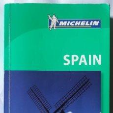 Libros de segunda mano: THE GREEN GUIDE MICHELIN - SPAIN , 2009 . GUIA ESPAÑA VERDE. Lote 181864810