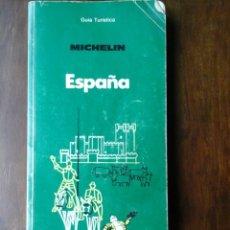 Libros de segunda mano: GUIA TURISTICA MICHELIN ESPAÑA. Lote 181884757