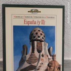 Libros de segunda mano: LIBRO MARAVILLA Y TESOROS DEL PATRIMONIA DE LA HUMANIDAD - ESPAÑA - TIEMPO. Lote 181999650