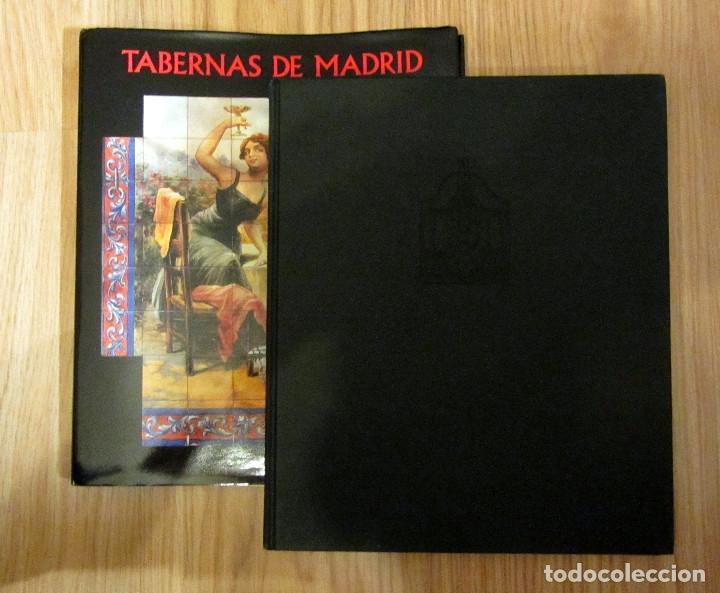 Libros de segunda mano: LIBRO TABERNAS DE MADRID EDICION ILUSTRADA LUIS AGROMAYOR LUNWERG EDITORES - Foto 3 - 212154080