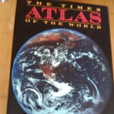 Libros de segunda mano: THE TIMES ATLAS OF THE WORLD - ATLAS DEL MUNDO DE TIMES. Lote 182258450