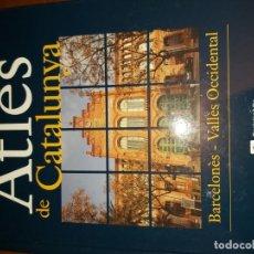 Libros de segunda mano: ATLES DE CATALUNYA : NÚMERO 2. BARCELONÈS-VALLÈS OCCIDENTAL. Lote 182325222