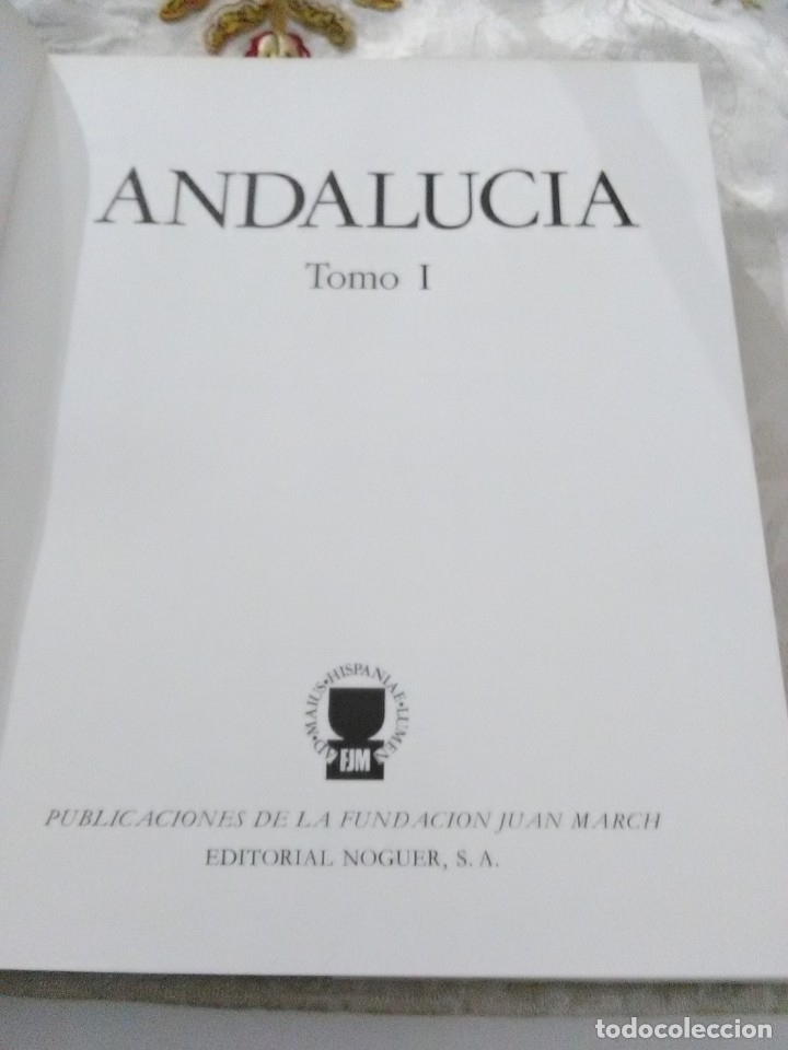 Libros de segunda mano: Andalucía. (2 Tomos). Col. Tierras de España. Varios autores. Noguer. 1980. - Foto 2 - 182639298