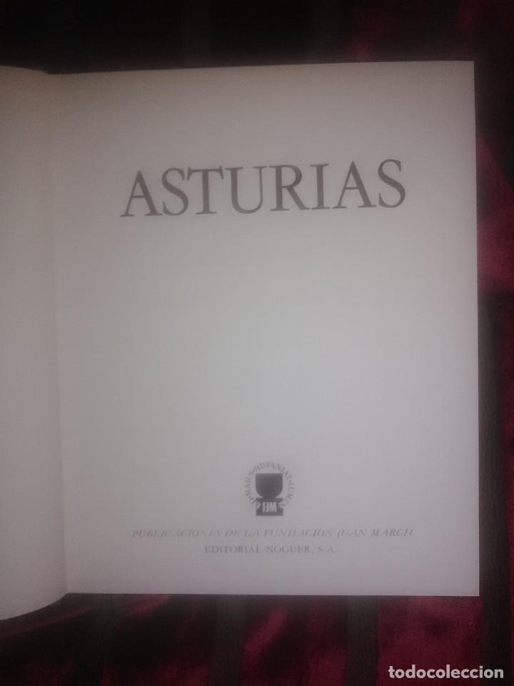 Libros de segunda mano: Asturias. Col. Tierras de España. Varios autores. Noguer. 1978. - Foto 2 - 182648027