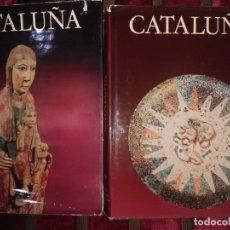 Libros de segunda mano: CATALUÑA. (2 TOMOS). COL. TIERRAS DE ESPAÑA. VARIOS AUTORES. NOGUER. 1974-78.. Lote 182650675
