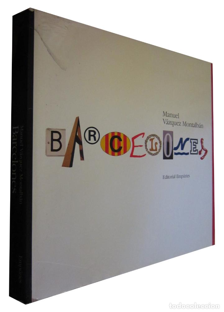 REF.0031964 BARCELONES / MANUEL VÁZQUEZ MONTALBÁN (Libros de Segunda Mano - Geografía y Viajes)