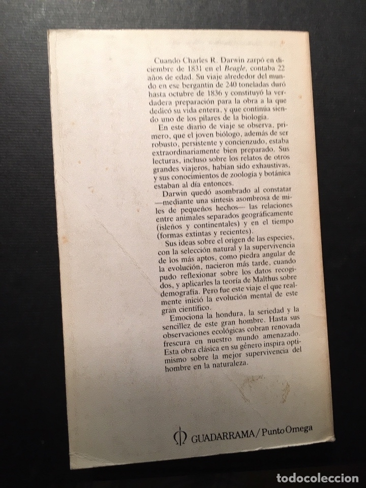 Libros de segunda mano: El viaje del Beagle, C. Darwin - Foto 2 - 182779833