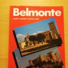Libros de segunda mano: BELMONTE (MARÍA AGUEDA CASTELLANO) EDITORIAL EVEREST. Lote 182802527