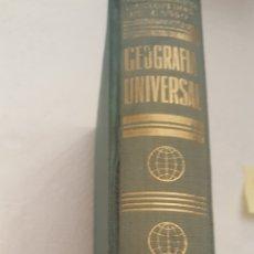 Libros de segunda mano: GEOGRAFIA UNIVERSAL. Lote 183009748