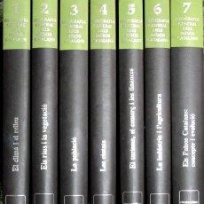 Libros de segunda mano: GEOGRAFIA GENERAL DELS PAÏSOS CATALANS (7 VOL. - COMPLET) - BARCELONA 1992 - IL·LUSTRAT. Lote 183166002